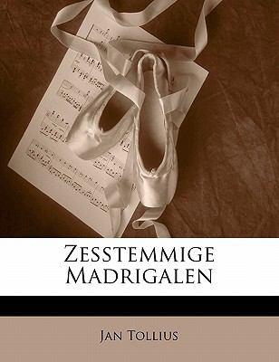 Paperback Zesstemmige Madrigalen Book