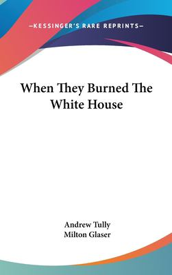Hardcover When They Burned the White House Book