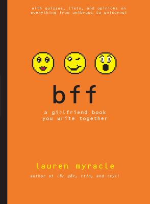 bff: a girlfriend book you write together - Book  of the Internet Girls