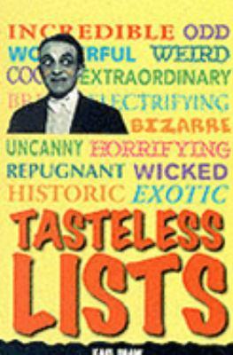 Tasteless Lists (Giants S.) (0752535420 7375873) photo