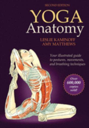 Paperback Yoga Anatomy Book
