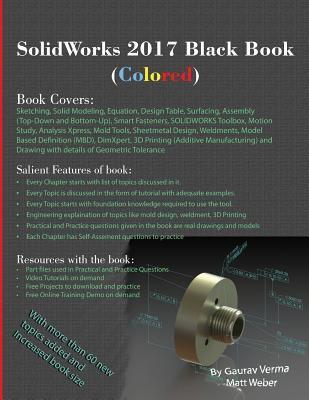 Solidworks 2017 Black Book (Colored) by Matt Weber