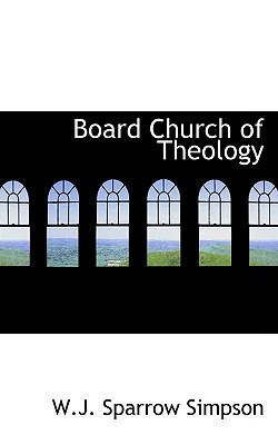 Paperback Board Church of Theology Book
