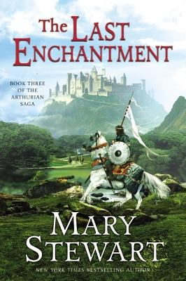 The Last Enchantment Book By Mary Stewart border=