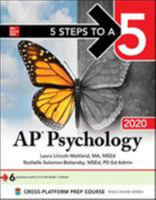 Paperback 5 Steps to a 5: AP Psychology 2020 Book