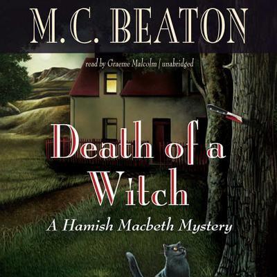 Death of a Witch Lib/E 0792759559 Book Cover