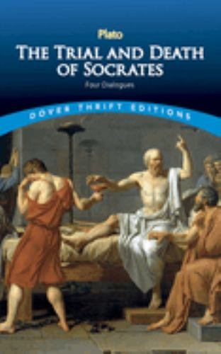 Paperback The Trial and Death of Socrates : Four Dialogues Book