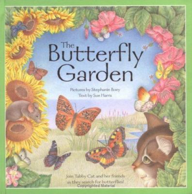 the butterfly garden join tabby cat and - Butterfly Garden Book
