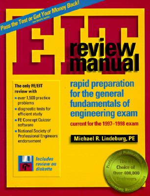 eit review manual rapid preparation for book by michael r lindeburg rh thriftbooks com fe review manual pdf download fe review manual torrent