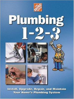 plumbing 1 2 3 home depot 1 2 3 book by jim stepp rh thriftbooks com Home Wiring Best Book Home with a Lot of Books