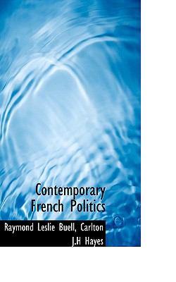 Paperback Contemporary French Politics Book