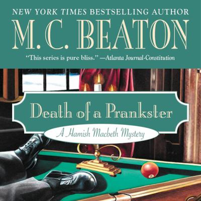 Death of a Prankster 1482947846 Book Cover