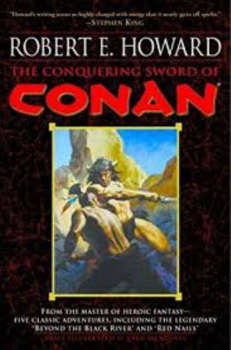The Conquering Sword of Conan 0739462326 Book Cover