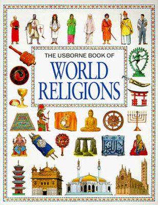 Paperback The Usborne Book of World Religions Book