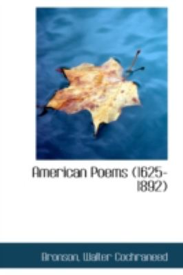 Paperback American Poems Book