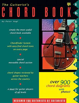 The Guitarists Chord Book By Peter Vogl