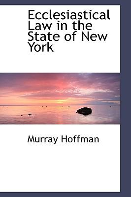 Paperback Ecclesiastical Law in the State of New York Book