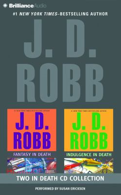 Audio CD J. D. Robb Collection – Fantasy in Death and Indulgence in Death (In Death Series) Book