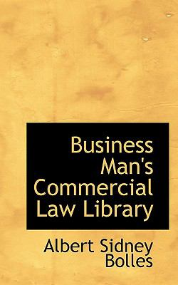 Paperback Business Man's Commercial Law Library Book