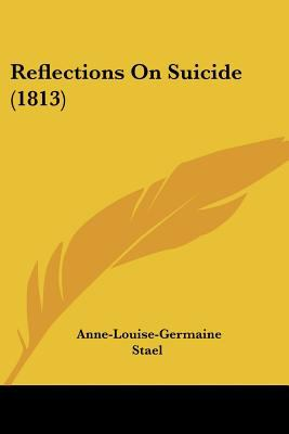 Paperback Reflections on Suicide Book