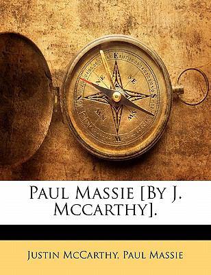 Paperback Paul Massie [by J Mccarthy] Book