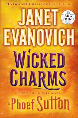 Paperback Wicked Charms [Large Print] Book