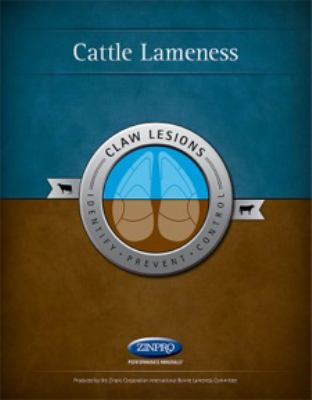 Paperback Cattle Lameness : Identification, Prevention and Control of Claw Lesions Book