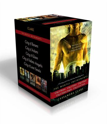 Paperback The Mortal Instruments : City of Bones; City of Ashes; City of Glass; City of Fallen Angels; City of Lost Souls Book