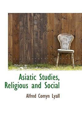 Paperback Asiatic Studies, Religious and Social Book