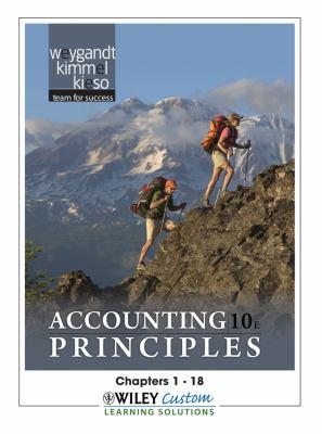 Accounting Principles for Matc - Weygandt