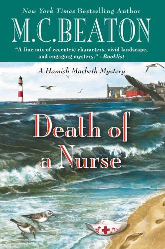 Death of a Nurse [Large Print] 1455536326 Book Cover