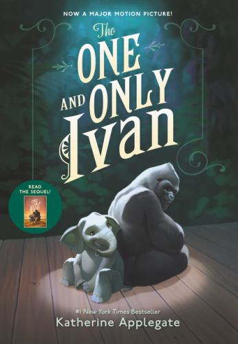 Hardcover The One and Only Ivan Book