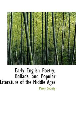 Paperback Early English Poetry, Ballads, and Popular Literature of the Middle Ages Book
