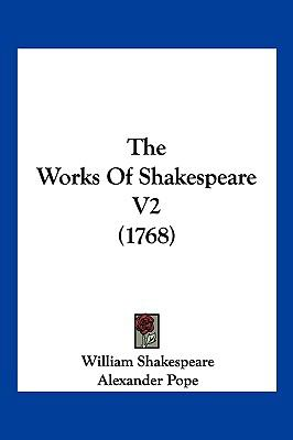 Hardcover The Works of Shakespeare V2 Book