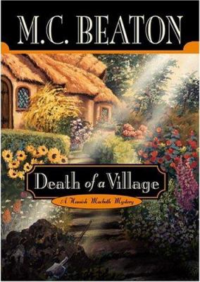 Death of a Village (Hamish Macbeth Mysteries, N... 0892966777 Book Cover