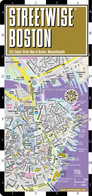 Streetwise Chicago Map.Streetwise Boston Map Laminated City Book By Streetwise Maps