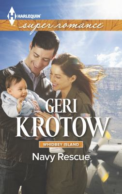 Mass Market Paperback Navy Rescue [Large Print] Book