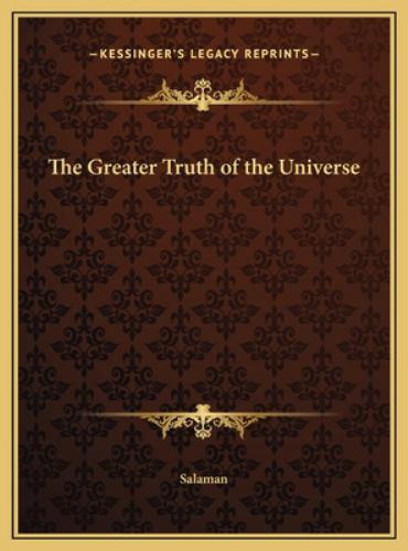Hardcover The Greater Truth of the Universe Book