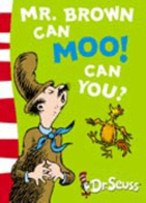 Paperback Mr. Brown Can Moo! Can You?: Blue Back Book (Dr Seuss - Blue Back Book) Book