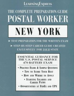 Postal Worker New York Learning Express Book By Learningexpress