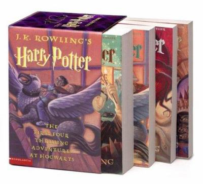 Harry Potter Boxed Set Books 1-4 - Book  of the Harry Potter