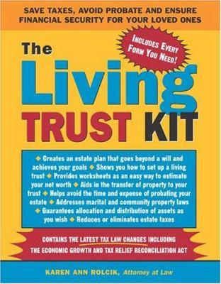 The Living Trust Kit Book By Karen Ann Rolcik