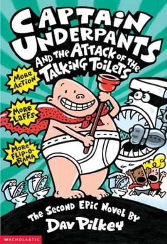 Paperback Attack of the Talking Toilets Book