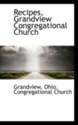 Paperback Recipes, Grandview Congregational Church Book