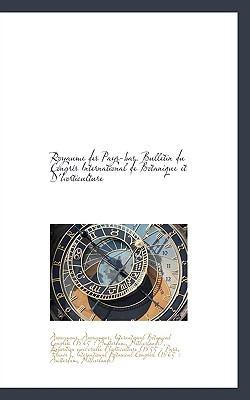 Paperback Royaume des Pays-Bas Bulletin du Congr?s International de Botanique et D'Horticulture Book