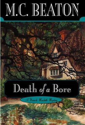 Death of a Bore (Hamish Macbeth Mysteries, No. 21) B000FL895M Book Cover
