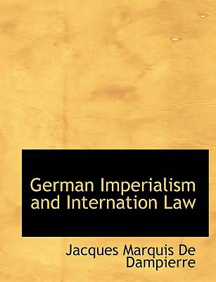 Paperback German Imperialism and Internation Law Book
