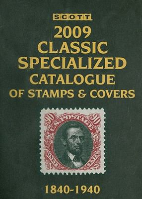 Scott Classic Specialized Catalogue:    book by Scott Publishing
