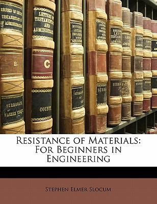 Paperback Resistance of Materials : For Beginners in Engineering Book