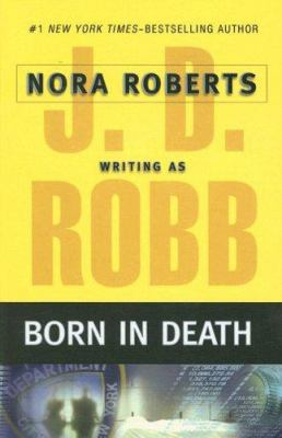 Paperback Born in Death [Large Print] Book